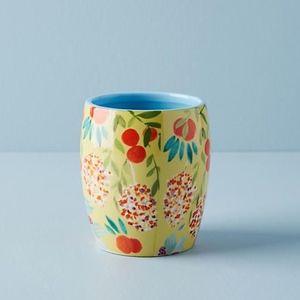 Anthropologie Sisters Gulassa Succulent Flower Pot
